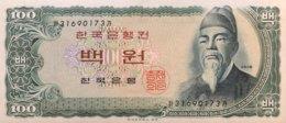 South Korea 100 Won, P-38 (1965) - UNC - Korea (Süd-)