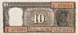 India 10 Rupees, P-60L - UNC - Sign.85 - India