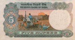 India 5 Rupees, P-80o (1975) - UNC - Sign.85 - India