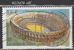 FRANCE ANNEE 2002 N° 3470    OBLITERE - France