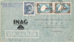 34685. Carta Aerea BUENOS AIRES (Argentina) 1951.  Lineal VIA CONDOR - Argentina