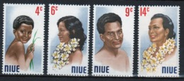 Niue 1971 Set Of Stamps Showing The Niuean Portrait Series. - Niue