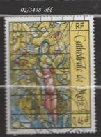 FRANCE ANNEE 2002 N° 3498    OBLITERE - France