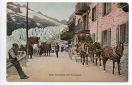 Hotel Belvedere Postkutsche Diligence-  - - - - 439 - VS Valais