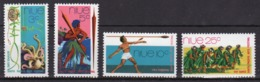 Niue 1972 Set Of Stamps From The South Pacific Arts Festival. - Niue