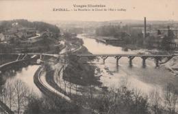 EPINAL    La Moselle Et Le Canal De L'Est à Golbey - Epinal