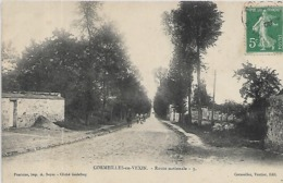 95, Val D'Oise, CORMEILLES EN VEXIN, Route Nationale, Scan Recto Verso - Other Municipalities