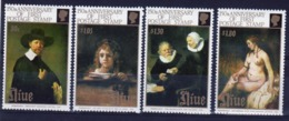 Niue 1990 Set Of Stamps Issued To 150th Anniversary Of The Penny Black. - Niue