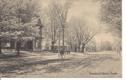 Stanstead Street South, Quebec, Derby Line Studio, Non Circulée (7639) - Andere