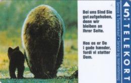 Denmark, KP 016, Bears, Ford, Mint, Only 2.000 Issued, 2 Scans - Denemarken