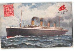 CPA TSS Titanic - White Star Line - Paquebots