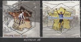 FRANCE ANNEE 2003 N° 3582 -83  OBLITERE - France