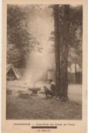 D13- CHAMARANDE - CAMP ECOLE DES SCOUTS DE FRANCE - LE KRAAL -  (PETITE ANIMATION - SCOUT - 2 SCANS) - Scoutismo