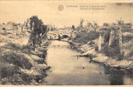 Dixmude - Canal Et Le Pont Du Nord - Guerre 1914-18