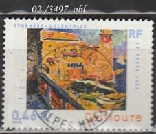 FRANCE ANNEE 2002 N° 3497    OBLITERE - France