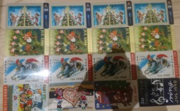 Denmark, 16 Different Christmas Cards, 2 Scans.  Please Read - Dänemark