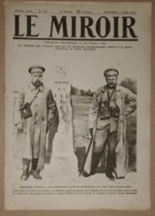 Le Miroir Du 2/07/1916 Le Front De Verdun Sur Les Rives De La Meuse - Troupes Russes En Arménie - Albert 1er - Salonique - Kranten