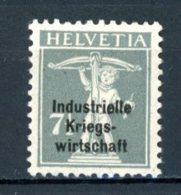 Helvetia   Y&T    S  11    X    ---     Très Faibles Charnières  --   TTB - Officials