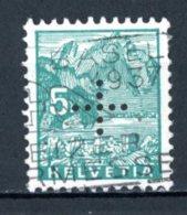 Helvetia   Y&T    S  126    Obl    ---     TTB - Officials