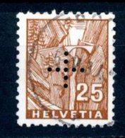 Helvetia   Y&T    S  130    Obl    ---     TTB - Oficial