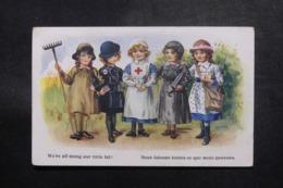 CROIX ROUGE - Carte Postale De La Croix Rouge , Voyagé En 1917 - L 47795 - Croce Rossa