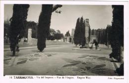 34698. Postal TARRAGONA. Ruinas Romanas, Via Del Imperio - Tarragona