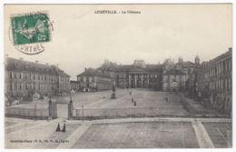 CPA Luneville, Le Chateau, Gel. 1916 - Luneville