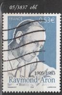 FRANCE ANNEE 2005 N°  3837    OBLITERE - France