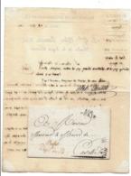 Département Conquis Lettre De TURIN 1809 Cachet PREFET / DEPT DU PO - Documents Historiques