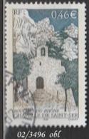 FRANCE ANNEE 2002 N° 3496    OBLITERE - France