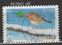 FRANCE ANNEE 2003 N° 3622   OBLITERE - France