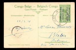 CONGO - EAAOB - BPCVPK 10 Vers WATOU - UN4 - Interi Postali