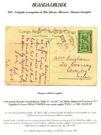 CONGO - EAAOB - FPO 320 - To England UK - 10 MARS 1918 - On Active Service  - RRR - UN4 - Interi Postali