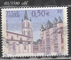 FRANCE ANNEE 2003 N° 3580   OBLITERE - France