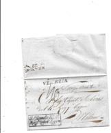 Département Conquis Lettre De Ghioggia 1811 Cachet Colonel Régiment Infanterie - Documents Historiques