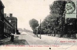 Monceau Sur Sambre Routes De Fontaine L'Evêque Et D'Hameau 1905 Propriété F. Delrot-Crépin N°2 - Charleroi