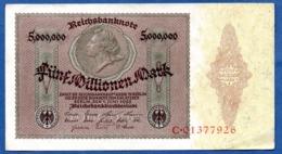 Allemagne - 5 Millionnen Mark  1/6/1923  --état  TTB - 5 Millionen Mark