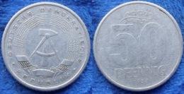 DDR · GDR - 50 Pfennig 1958 A KM# 12.1 Democratic Republic - Edelweiss Coins - [ 6] 1949-1990: DDR