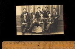 Photo Carte Photographie CHAUFFAILLES Saône Et Loire 71 : Conscrits Conscrit Classe 1937 Chauffailles - Francia