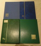 Lot With German Stamps In Albums - Briefmarken