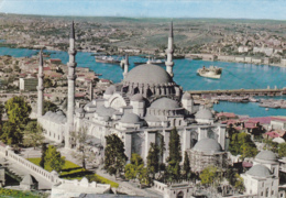Postcard - Istanbul-Turkiye - Suleymaniye Camii 1557 - The Mosque Of Suleiman The Magnificent - Card No.34/402(49A) - VG - Cartes Postales