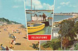 Postcard - Felixstowe 3 Views  Card No.f0642 Unused Very Good - Cartes Postales