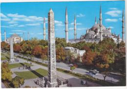 Postcard - Istanbul-Turkiye - Hipodrom Ve Sultanamet Camii - Card No. 34/68 - VG - Cartes Postales