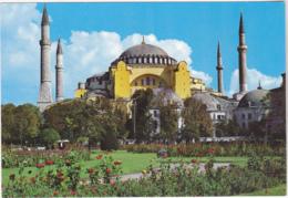 Postcard - Istanbul-Turkiye - Ayasofya (537) - Card No. 34/64 - VG - Cartes Postales