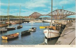 Postcard - Forth Bridge From The Harbour, South Queensferry  Card No..56 Unused Very Good - Cartes Postales