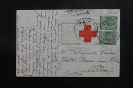 ITALIE - Carte Postale Croix Rouge De Pavie Pour La Suisse En 1915, Affranchissement Plaisant - L 47798 - 1900-44 Victor Emmanuel III