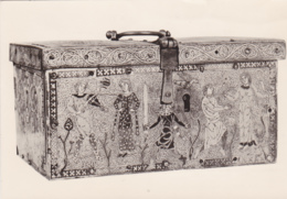 Postcard - Enamelled Casket With Secular Subjects, Made At Limoges, France - Early 13th Cent - Card No. BM/4 - VG - Cartes Postales
