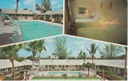 Postcard - Green Villa Court Lake Worth Florida Card No..92473b Unused Very Good - Cartes Postales