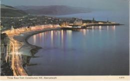 Postcard - Three Bays From Consitution Hill, Aberystwyth Card No..a0578 Unused Very Good - Cartes Postales