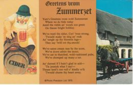 Postcard - Greetens From Zummerset C1975 Card No..plx6592 Used  Not Posted Very Good - Cartes Postales